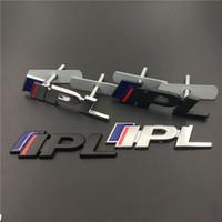 ingrosso 3d adesivo auto cromato-Sostituito in auto in lega di zinco Chrome 3D emblema distintivo adesivo IPL per Infiniti AUTO SPORT