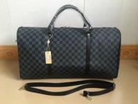 8b136f4df43a Wholesale louis bag for sale - LOUIS VUITTON SUPREME Handbags Men Leather  Luggage Bag Duffle Bag