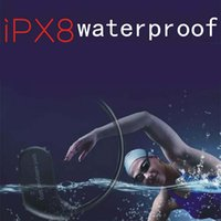 Wholesale waterproof mp3 player 4gb ipx8 resale online - Fashion Outdoor IPX8 Waterproof Swimming MP3 Player Sport Headphone HiFi Music G G Memory Diving Running Dustproof