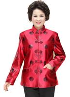 ingrosso maniche collane cinesi per le donne-Shanghai Story Collare alla coreana da donna con maniche lunghe, stile cinese, giacca cinese per la primavera delle coppie