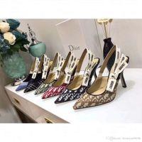 borboleta de casamento de sapatos venda por atacado-2019 Sophia Webster Evangeline Angel Asa Sandália Plus Size 42 Couro Genuíno Bombas de Casamento Rosa Glitter Sapatos Mulheres Borboleta Sandálias Sapatos