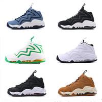 camping zapatos al aire libre al por mayor-Mens Pippen Hoh Draft Pack 1 Uptempo 94 OG Negro Whte Rojo Zapatos ocasionales de alta calidad para hombre al aire libre diseñador de zapatos Tamaño 40-46