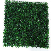 Wholesale grass for wall decoration for sale - Group buy 40x60cm Wedding Decoration Grass Mat Green Artificial Plant Lawns Landscape Carpet for Home Garden Wall Decoration Fake Grass