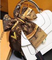 продажа дизайнерских сумок оптовых-Горячие женские оголовье сумка шарф Мода Классический 100% натуральный шелк шарфов Горячие Продажа женские дизайн оголовье бренда Классические 100% НАСТОЯЩЕМУ шелковые шарфы F
