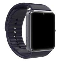 reloj smart оптовых-Умные часы GT08 Reloj Inteligente Поддержка SIM-карты Bluetooth-соединение для Iphone Android телефон SmartWatch