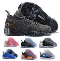 nuevas zapatillas de baloncesto chinas al por mayor-Kd 11 Zapatillas de baloncesto para hombre Oro Kevin Durant 11s XI Still KD Eybl Twilight Pulse Chinese Zodiac 2019 New Designer Baskts Zapatillas baratas