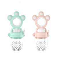 Wholesale baby food pacifier for sale - Group buy Baby Feeding Nipple Safe Silicone material Food Fruit Feeding Baby Care Infant Soother Newborn Pacifier Teether Nipple Feeder