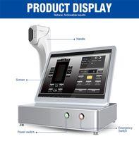 máquina de ultra-som para beleza venda por atacado-Alta Qualidade HIFU 3D Alta Intensidade Focada Máquina de Beleza por Ultrassom Equipamento de Beleza de Alta Qualidade Faca Ultrassônica Pele Máquina de Beleza