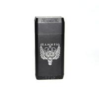 аккумулятор молотка оптовых-Электронная сигарета Hammer of God V4 Box Мод Vape Mechanical Mod fit 4 * 21700 Батарея Огромная мощность для мех RDA RTA RDTA MOD