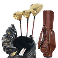 madera de hierro al por mayor-Nuevos palos de golf Maruman Majesty Prestigio Juego completo de 9 palos Planchas de madera para conductor Putter y bolsa de golf Grafito Eje de golf Juego completo