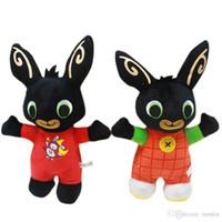 personnaliser la peluche achat en gros de-2019 nouvelle arrivée Bing Bunny Bunny Soldier Peluche Jouet Personnalisé Bande Dessinée Lapin Poupée De Noël Jouet En Gros