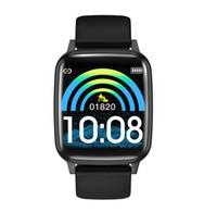 sauerstoffmonitor ce groihandel-HBand R1 Fitness Tracker, Bluetooth Smart Armbänder Herzfrequenz-Blutdruck-Sauerstoff-Schlaf-Monitor Erinnerung Smart Watch CE Drop Shipping