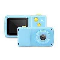 kamerafilme großhandel-Kinder Pädagogisches Spielzeug Fotokamera Kinder Mini Digitale Spielzeugkamera Unterstützung TF Kartenspiele 2 zoll Bunte Anzeige mit Kleinkasten