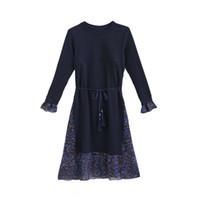 кормящая грудью одежда оптовых-Платья для беременных с длинным рукавом для кормящих мам Грудное вскармливание Платье для беременных Для беременных Весенние платья