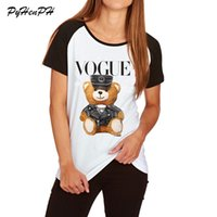 Wholesale raglan shirt for sale - Group buy Super Cute Vogue Tees Police T Shirt Women Summer Fashion Plus Size Tee Shirt Homme Raglan Sleeve Cotton Women s Clothing T Shirt Top S XL