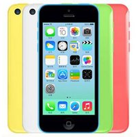 Wholesale free iphone 5c for sale – best Refurbished Original Apple iPhone C inch G GB GB IOS8 Dual Core A6 CPU MP Unlocked G LTE Smart Phone Free DHL
