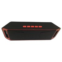 Wholesale wholesale bluetooth mini speaker online - SC208 Wireless Bluetooth Speakers mini speaker portable music Bass Sound Subwoofer Speakers for Smart phone and Tablet PC Hot sales