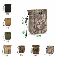 Wholesale outdoor survival bag for sale - Group buy Outdoor Hiking Camping Waist Bag Military Phones Survival Bag Belt Waist Bag Tactical Storage Pocket LJJZ538