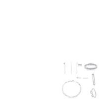 Wholesale spike bracelets fashion resale online - 2019 Sterling Silver Multi bear Straight Stick Fashion Pendant Ear Clip Bracelet Earmuffs Earrings Ring