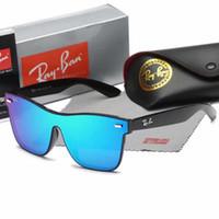 marcos de gafas de ojo de gato grande al por mayor-Venta al por mayor- Moda para mujer Oversized Cat Eye Sunglasses Mujer Vintage Luxury Big Frame Gafas de sol Tom Female Oculos UV400 box
