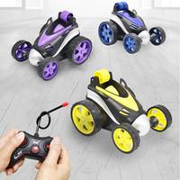 carro de brinquedo controle remoto mini venda por atacado-Meninos Wirless RC Car Toys Mini meninos conluio Dump Controle Remoto Elestric Carros Auto Kids Brinquedos Gift Package 04
