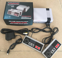 Wholesale video game console controllers resale online - Hot Selling Mini TV Video Entertainment System in Classic Retro Games Game Console for NES Games Wth Controllers Retail Box Packaging