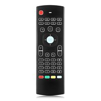 Wholesale infrared wireless keyboard mouse resale online - 3 in Multi function TZ GHz Air Mouse Wireless Keyboard Infrared Universal Remote Control For Smart TV TV Box PC MX3 BA