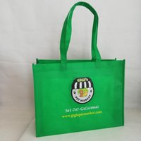 Wholesale store bags for sale - Group buy 1000pcs Reusable Promotion Non woven Bags Custom Shopping Bag with Your Market Store Banquet Using Wholesales