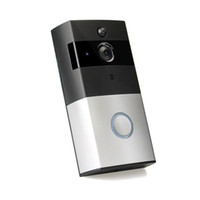 video a prueba de agua al por mayor-Inalámbrico Nuevo Hogar Seguridad Alimentado por batería Cámara con timbre inteligente Cámara de video inteligente Timbre de la puerta Visible Timbre de la puerta