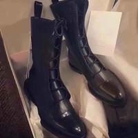 botas sexy de couro preto venda por atacado-FASHIONVILLE ~ 019090502 40 PATINAS DE COURO GENUÍNAS DE COURO TAMPA DO Dedo do pé liso botas curtas SEXY BOYISH