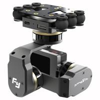teleobjetivo de cámara freeshipping al por mayor-Freeshipping Mini 3D más reciente cardán aviones 3 ejes, en dirección moverse 255 grados sin limitación para la fotografía aérea