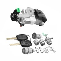 Ignition Switch Cylinder Door Lock Full Set w Trans Key For Accord 2006  2007 for Civic Odyssey Fit