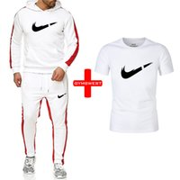 нижнее белье оптовых-New  Tracksuit men thermal underwear Men Sportswear Sets Fleece Thick hoodie+Pants+Tshirts Sporting Suit Malechandal hombre