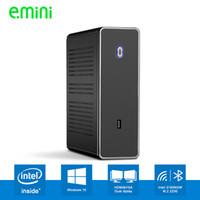 Wholesale mini pc i5 resale online - Realan Intel Core i5 U i7 U Celeron Mini PC Windows Barebone Computer DDR3L
