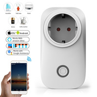 Wholesale power outlet remote control for sale - Group buy US UK CN AU EU WIFI Smart Plug Power Socket Light Switch Outlet A A V Wireless Remote Control Alexa Google Home