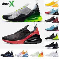 executar sapatos venda por atacado-2020 Novas Almofada 270 sapatilhas desportivas dos homens do desenhista Running Shoes CNY do arco-íris do salto instrutor Road Star BHM Ferro Mulheres 27C Sneakers Tamanho 36-45
