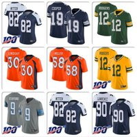 Wholesale dallas cowboys christmas for sale - Group buy Men Youth Dak Prescott Dallas Ezekiel Elliott Demarcus Lawrence Cowboys Jersey Aaron Rodgers Von Miller Matthew Stafford football jersey MAN