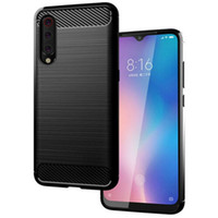 Wholesale carbon fibre cases for iphone online – custom Case for Xiaomi Mi For iPhone XS Max XR X Carbon Fibre TPU Case Silicone Phone Cover