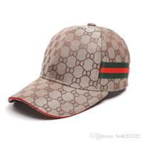 головные уборы оптовых-G8Гуччи взрослых бейсболки Snapback Твердотопливные шляпы Хлопок Кость European American Fashion