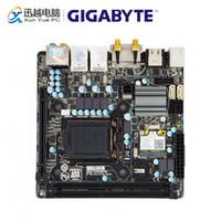 Wholesale desktop motherboard wifi for sale - Group buy Gigabyte GA H77N WIFI Desktop Motherboard H77N WIFI H77 LGA i7 i5 i3 DDR3 G SATA3 USB3 DVI HDMI Mini PCI E Mini ITX