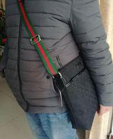 bej poşetler toptan satış-Moda Marka Erkek Omuz çantası Klasik Tuval Messenger Çanta kadın Moda çanta bej siyah Öğrenciler Tuval Okul Çantası