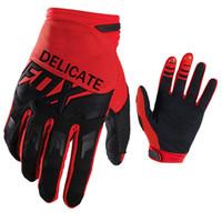 мотокросс грязевые перчатки оптовых-MX Motocross Race Gloves Мотоцикл Горный велосипед Грязь Велоспорт Спорт DIRTPAW Красные перчатки