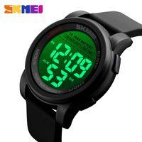 Wholesale stopwatch big for sale - Group buy SKMEI Big Dial Sport Watch Men Digital Stopwatch Wristwatches Luminous Waterproof Mens Watches Time Alarm reloj hombre