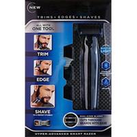 Wholesale trim remove resale online - Men s Electric Shaver Multi function Rechargeable Shaving Machine Men s Razor Hair Remove Trimmer
