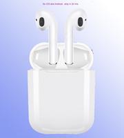 apfel drahtloses bluetooth kopfhörer großhandel-IFANS Mini i9s Twins Ohrhörer Mini Drahtlose Bluetooth Kopfhörer i7s TWS Air Kopfhörer Pods Stereo Kopfhörer für IPhone Android PC