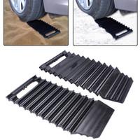 ingrosso trailer park-1Pair Car Wheel Tire Tire Copper Lock Heavy Duty Wheel Clamp Parcheggio Illegal Traino Auto Boot Trailer Pad antifurto Claw Lock