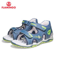 Wholesale sandal shoes for kids boys resale online - FLAMINGO Brand Mixed Color Summer Hook Loop Blue Casual Kids shoes Little Outdoor Sandals Flat for boy S XDB