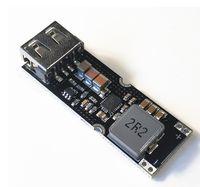 ingrosso telefono delle batterie 12v-Batteria al litio a cella singola potenziare il modulo di alimentazione 3.7V 4.2V Litro 5V 9V 12V Telefono mobile USB veloce QC2.0 QC3.0 TPS61088