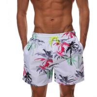 bunte badebekleidung großhandel-Männer gedruckt Bunte Badehose Sport Fashion Run Shorts lässig sommer Strand Schnell trocknend Board Shorts bademode TTA112