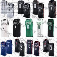 maillot de basket durant achat en gros de-Ncaa 11 Irving Jersey Kevin 7 Durant Kemba 8 Walker Kawhi 2 Leonard Paul 13 George Hommes College Maillots de basket-ball